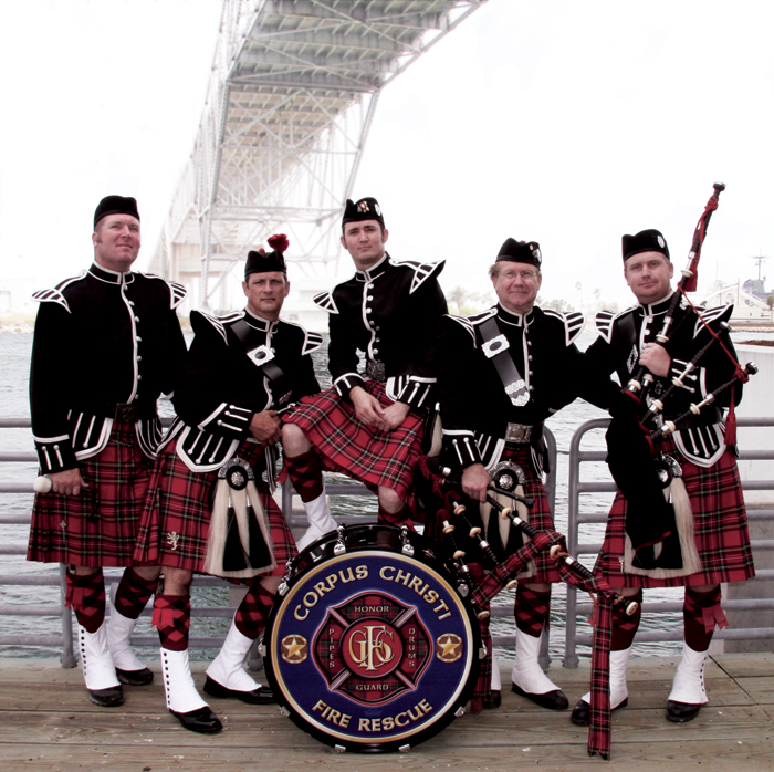 photo of ccfd pipes & drums