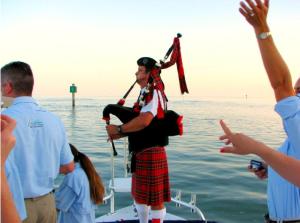 picture of dan sheppard playing a fishing tournament
