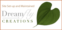 dreamfly creations web signature